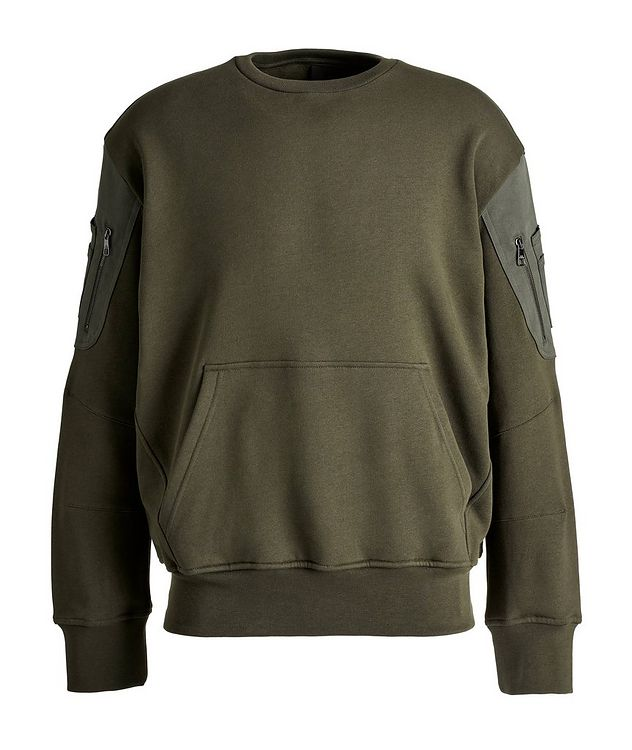 Cotton Bomber Sweatshirt picture 1