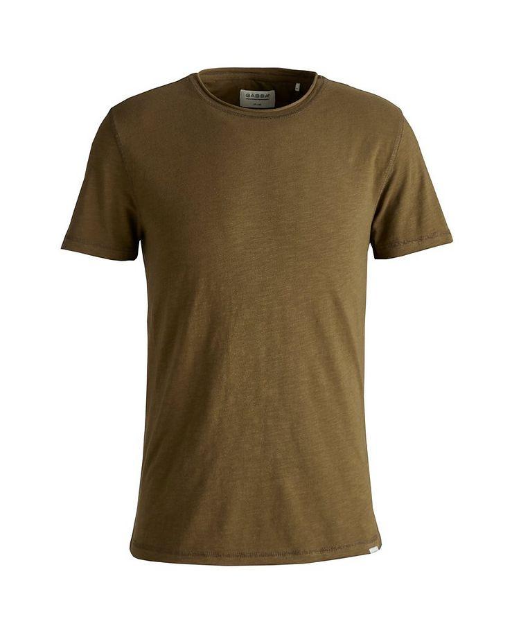 Konrad Slub Cotton T-Shirt image 0