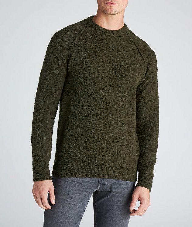 Arctic Bouncle Knit Cotton-Blend Sweatshirt picture 2