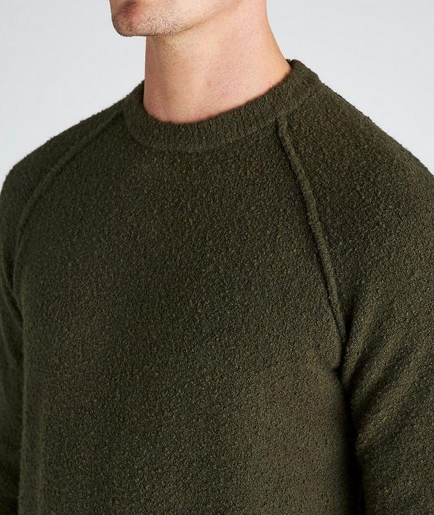 Arctic Bouncle Knit Cotton-Blend Sweatshirt picture 4