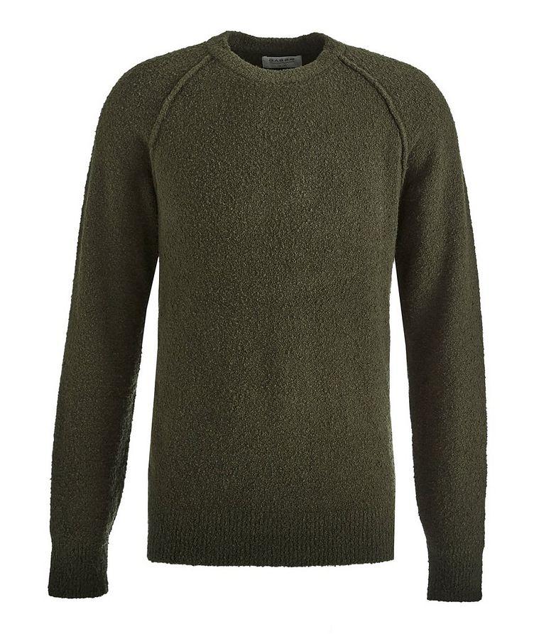 Arctic Bouncle Knit Cotton-Blend Sweatshirt image 0
