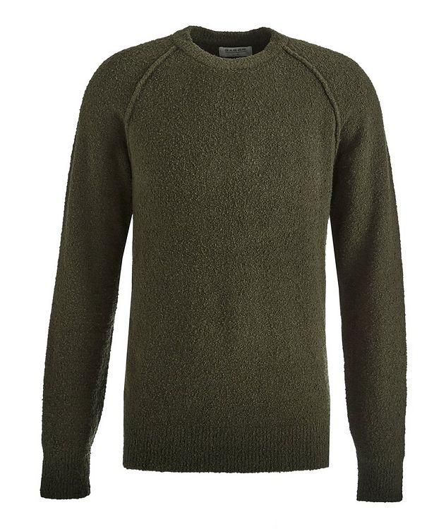 Arctic Bouncle Knit Cotton-Blend Sweatshirt picture 1
