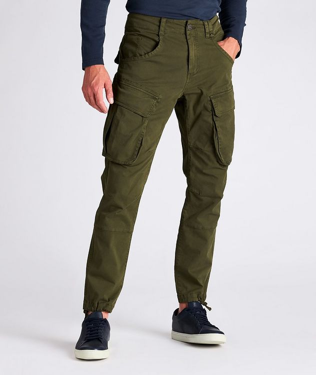 Rufo Stretch-Cotton Cargo Pants picture 2