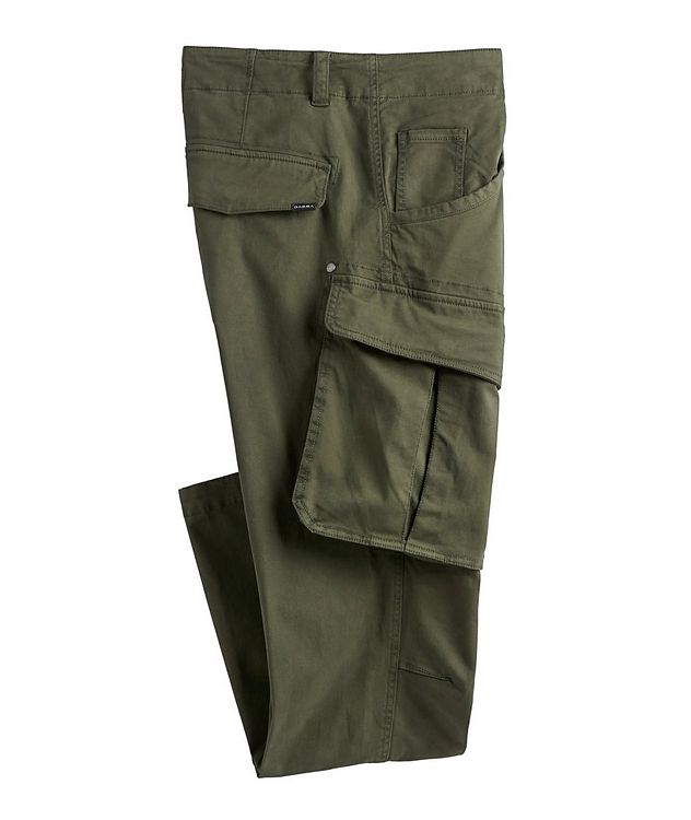 Rufo Stretch-Cotton Cargo Pants picture 1