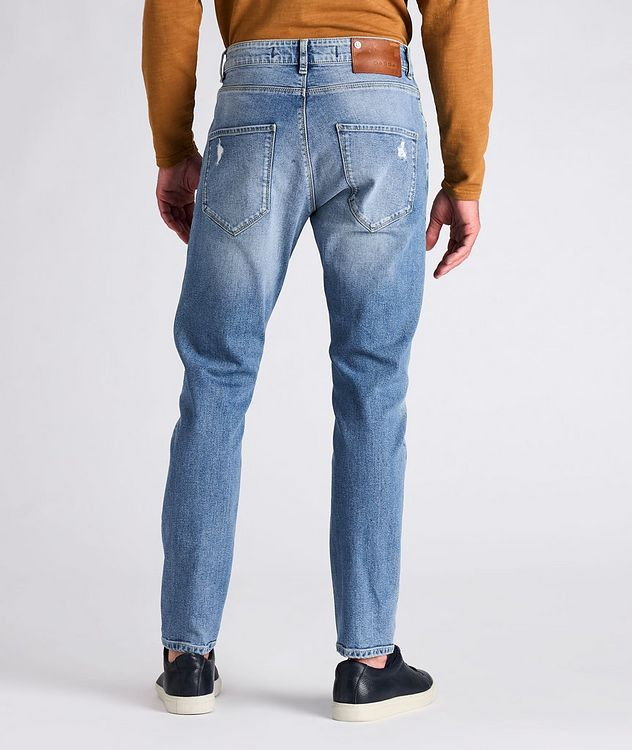 Rey Slim Fit Distressed Jeans picture 3