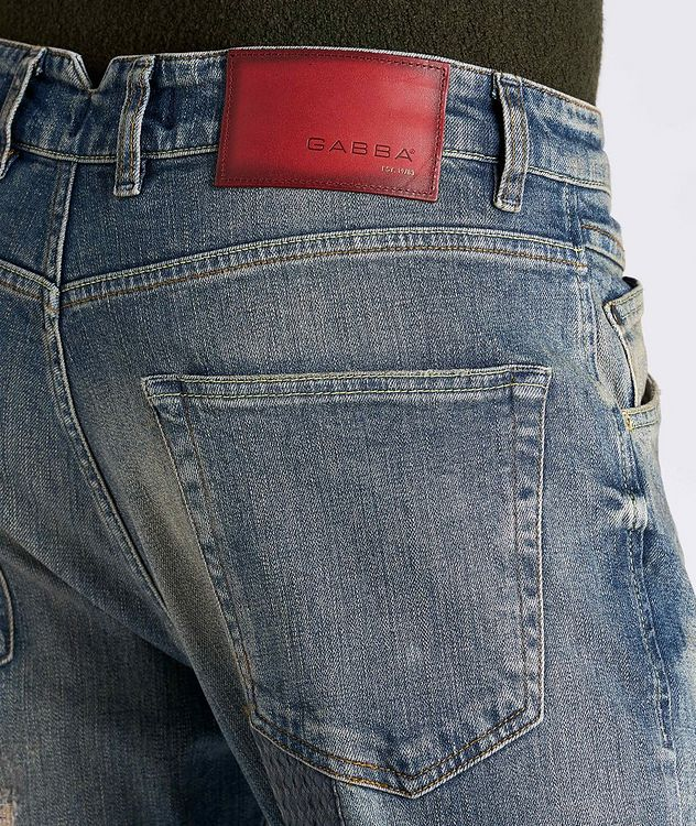 Alex Patchwork Jeans picture 5
