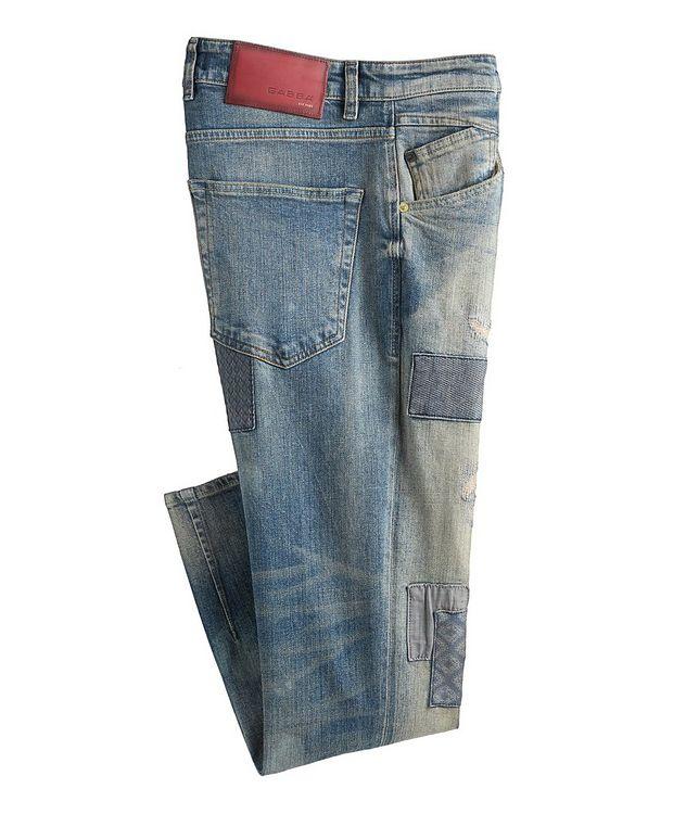 Alex Patchwork Jeans picture 1