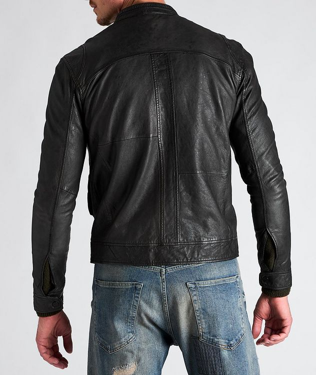 Benton Roll Leather Jacket picture 2