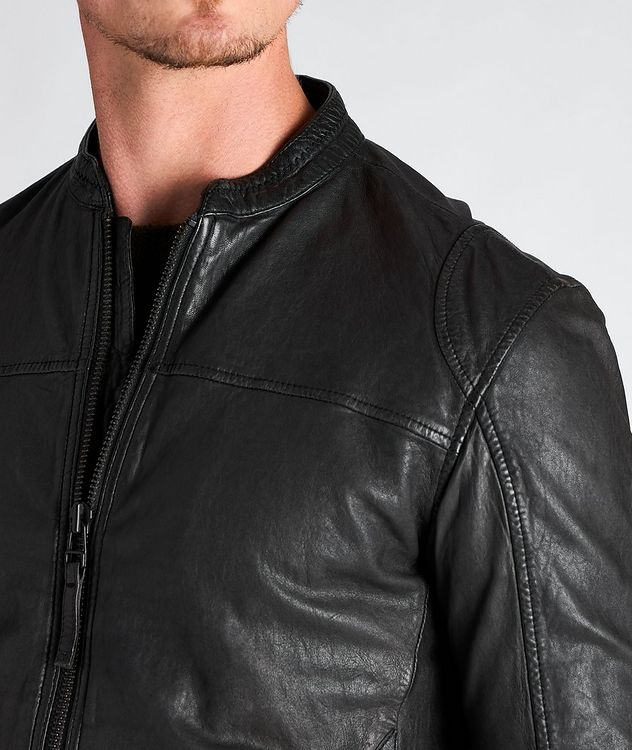 Benton Roll Leather Jacket picture 3