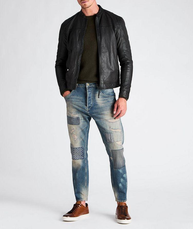 Benton Roll Leather Jacket image 3