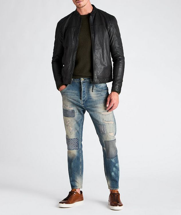 Benton Roll Leather Jacket picture 4