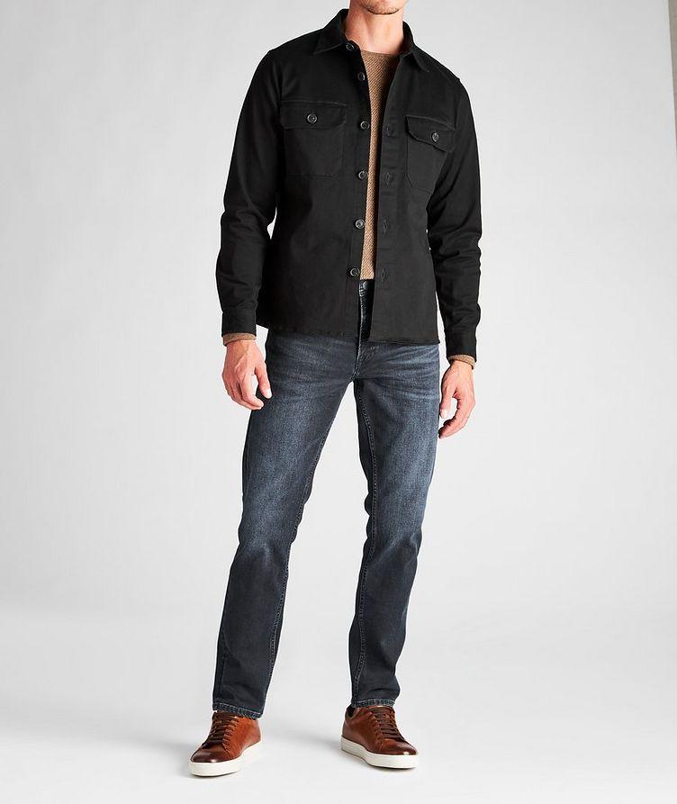 Topper LS Stretch-Cotton Workwear Jacket image 3