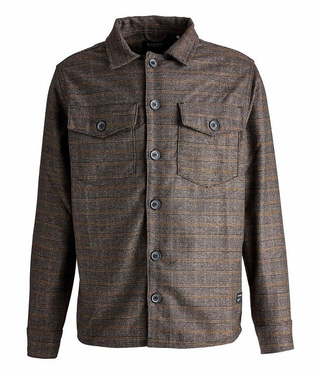 Clipper Piccolo Checked Shirt Jacket picture 1