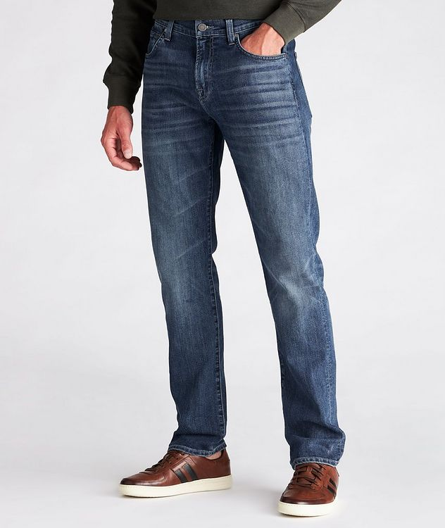 The Straight Airweft Denim Jeans picture 2