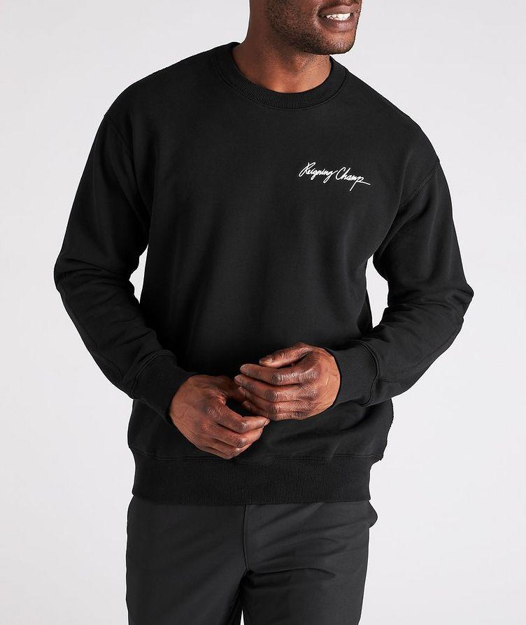 Autograph Logo Cotton Sweater image 1