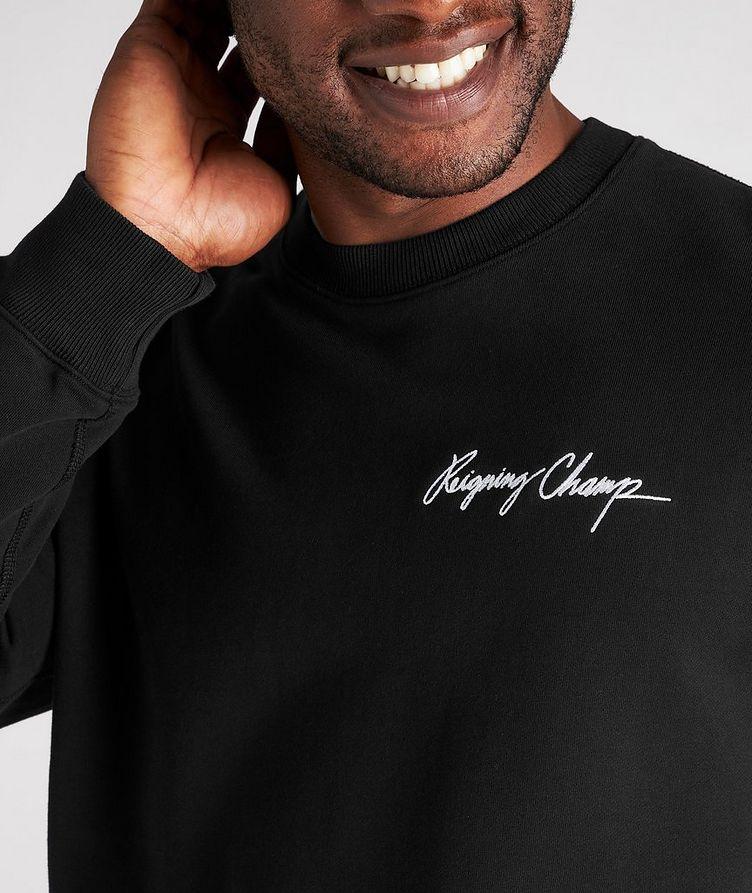 Autograph Logo Cotton Sweater image 3