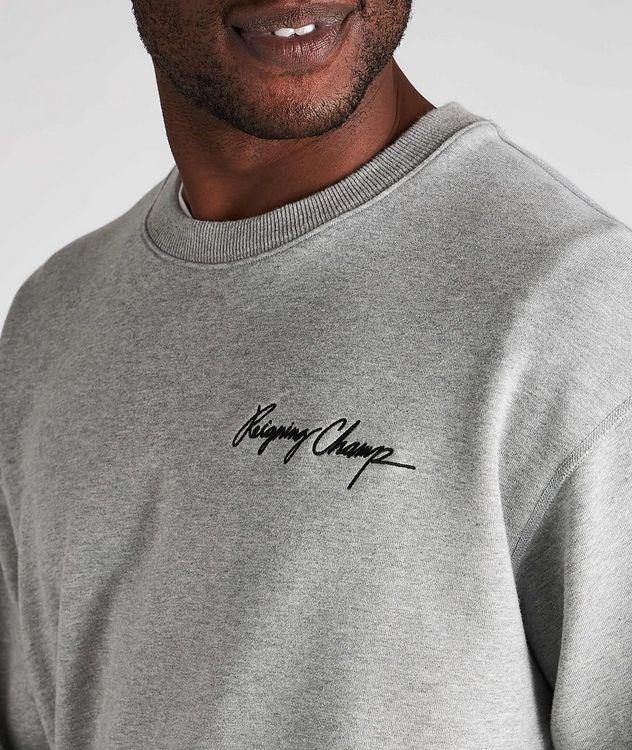 Autograph Logo Cotton Sweater picture 4