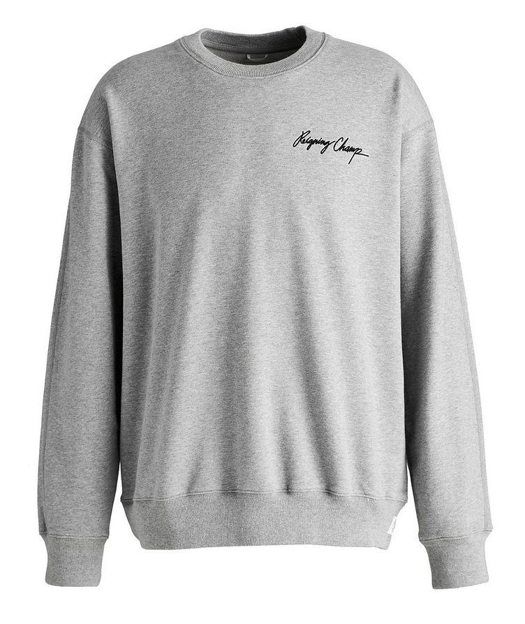 Autograph Logo Cotton Sweater image 0