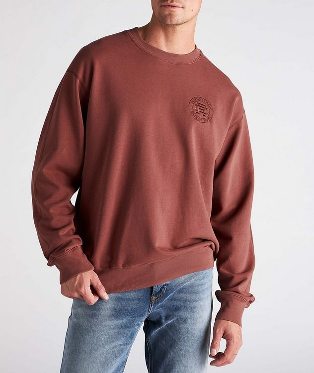 French Terry Cotton Sweatshirt picture 2