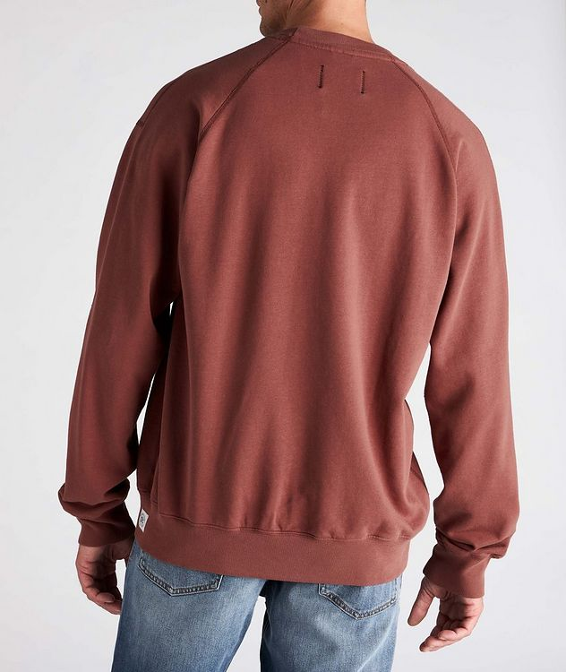 French Terry Cotton Sweatshirt picture 3