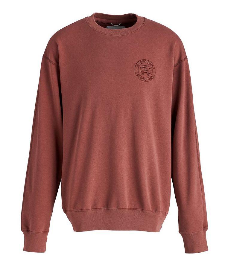 French Terry Cotton Sweatshirt image 0