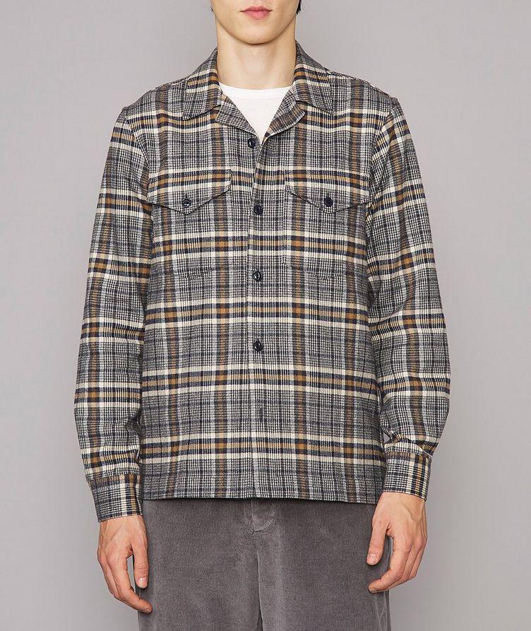 Jonas Plaid Flannel Cotton Overshirt image 1