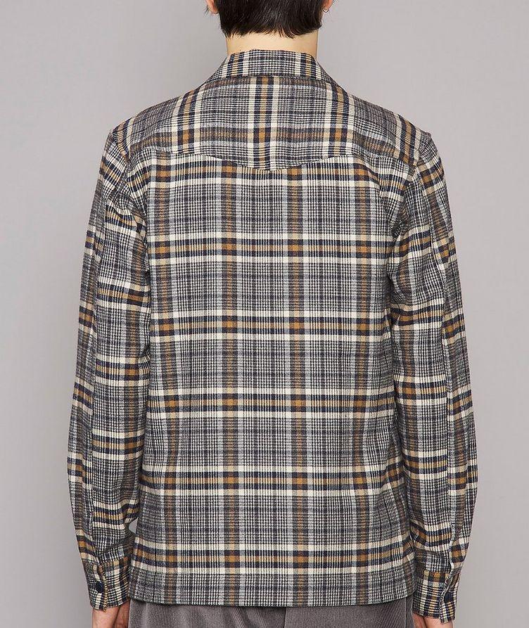 Jonas Plaid Flannel Cotton Overshirt image 2