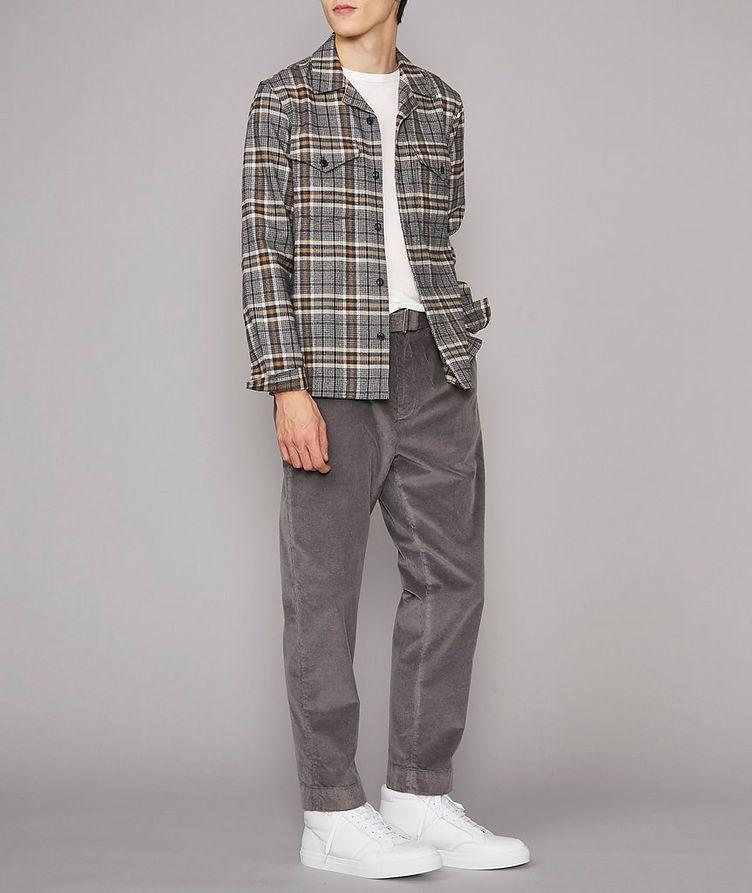 Jonas Plaid Flannel Cotton Overshirt image 4