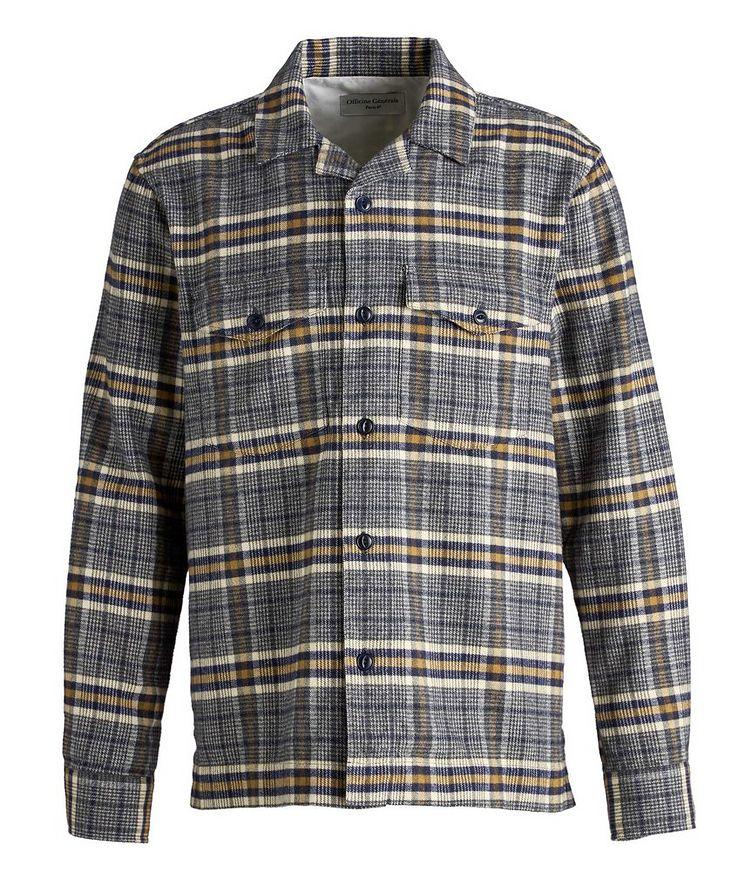 Jonas Plaid Flannel Cotton Overshirt image 0