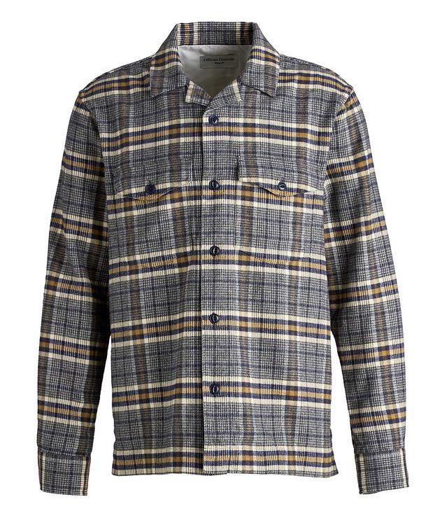 Jonas Plaid Flannel Cotton Overshirt picture 1