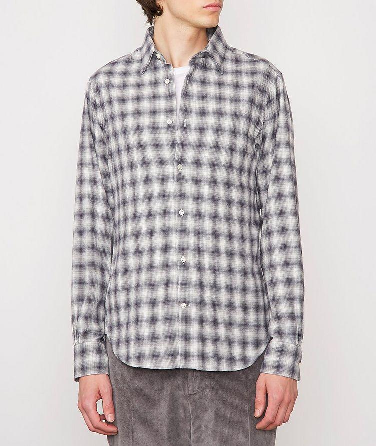 Giacomo Checked Cotton-Blend Sport Shirt image 1