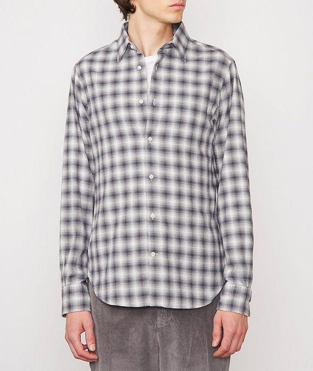 Giacomo Checked Cotton-Blend Sport Shirt picture 2