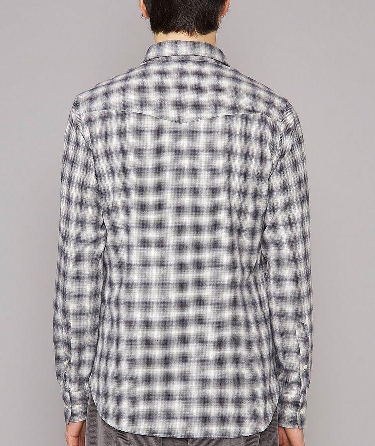Giacomo Checked Cotton-Blend Sport Shirt image 2