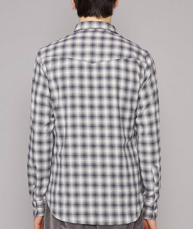 Giacomo Checked Cotton-Blend Sport Shirt picture 3