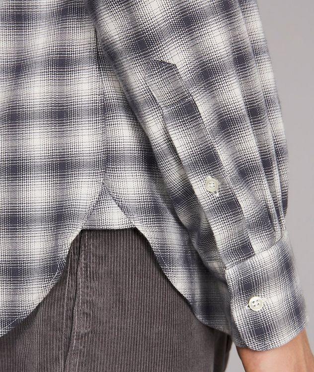 Giacomo Checked Cotton-Blend Sport Shirt picture 4