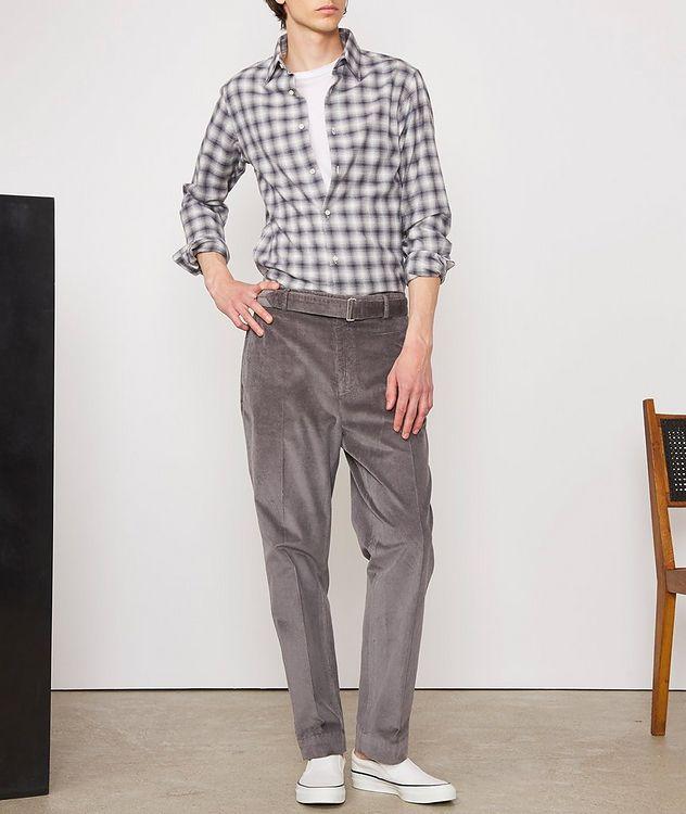 Giacomo Checked Cotton-Blend Sport Shirt picture 5