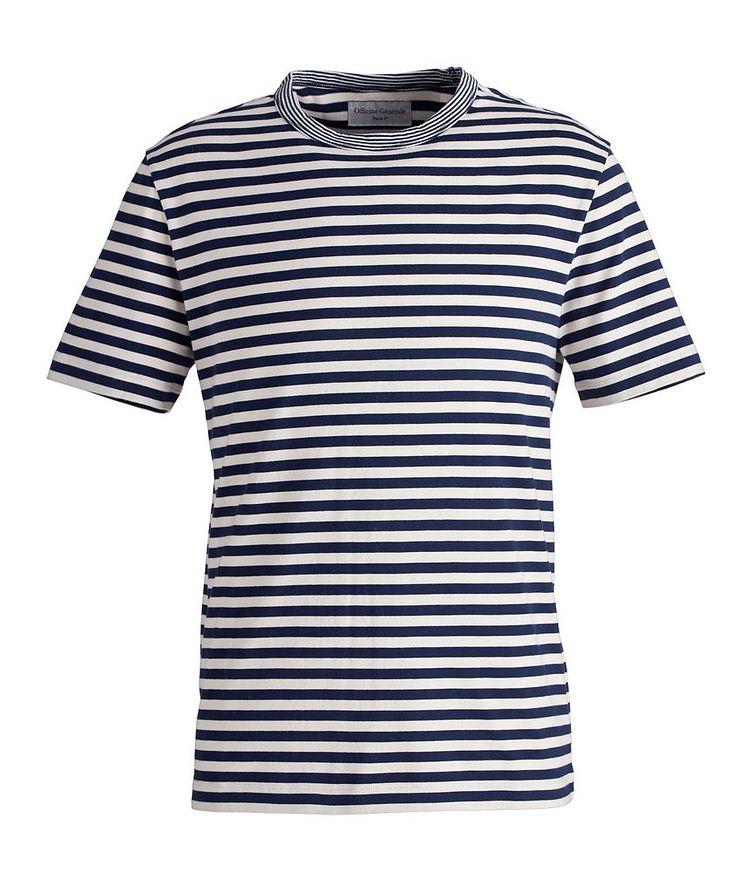 Striped Cotton T-Shirt image 0