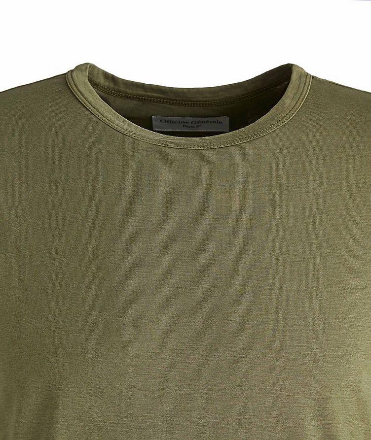 Lyocell-Cotton T-Shirt image 1