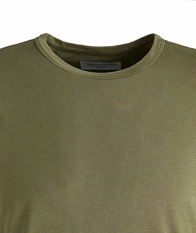 Lyocell-Cotton T-Shirt picture 2