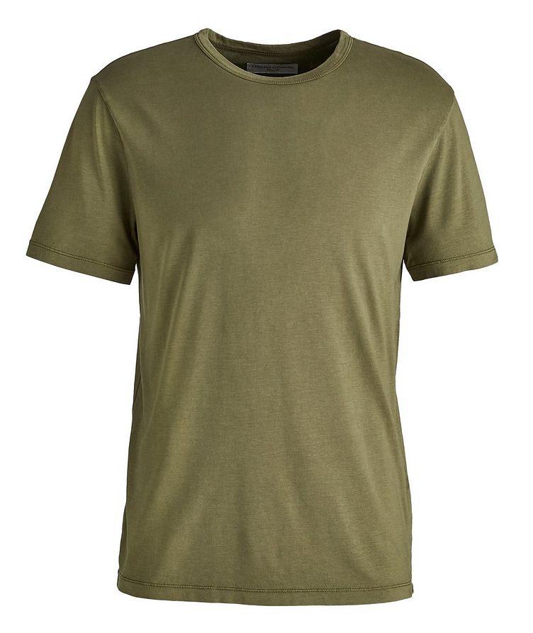 Lyocell-Cotton T-Shirt image 0