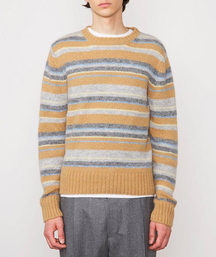 Marco Striped Alpaca-Wool-Blend Sweater image 1
