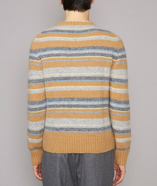 Marco Striped Alpaca-Wool-Blend Sweater picture 3