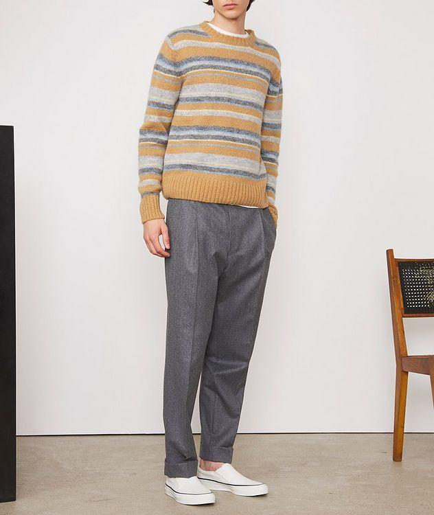 Marco Striped Alpaca-Wool-Blend Sweater picture 5