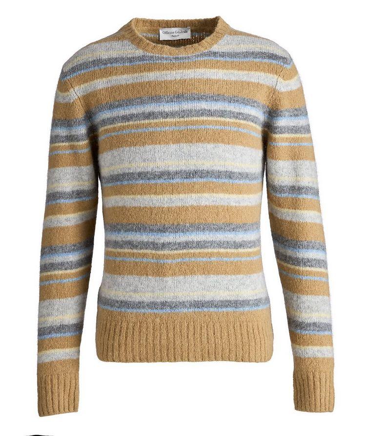 Marco Striped Alpaca-Wool-Blend Sweater image 0