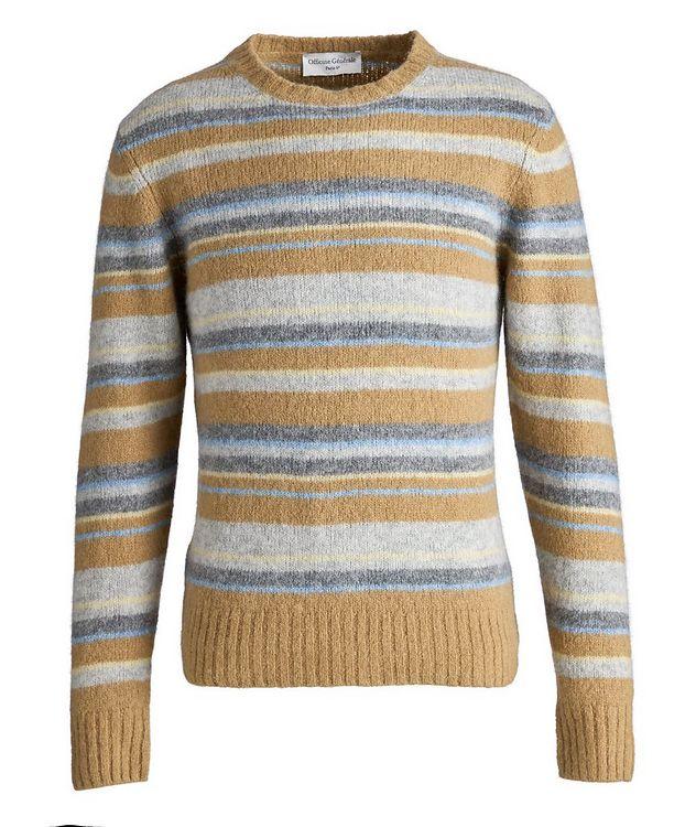Marco Striped Alpaca-Wool-Blend Sweater picture 1
