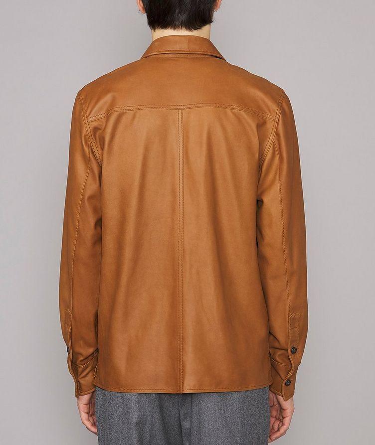 Amael Goat Suede Overshirt Jacket image 2
