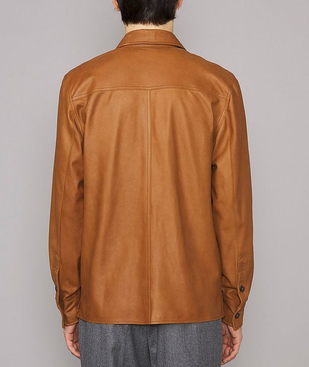 Amael Goat Suede Overshirt Jacket picture 3