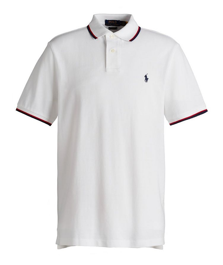 Slim-Fit Cotton Polo image 0