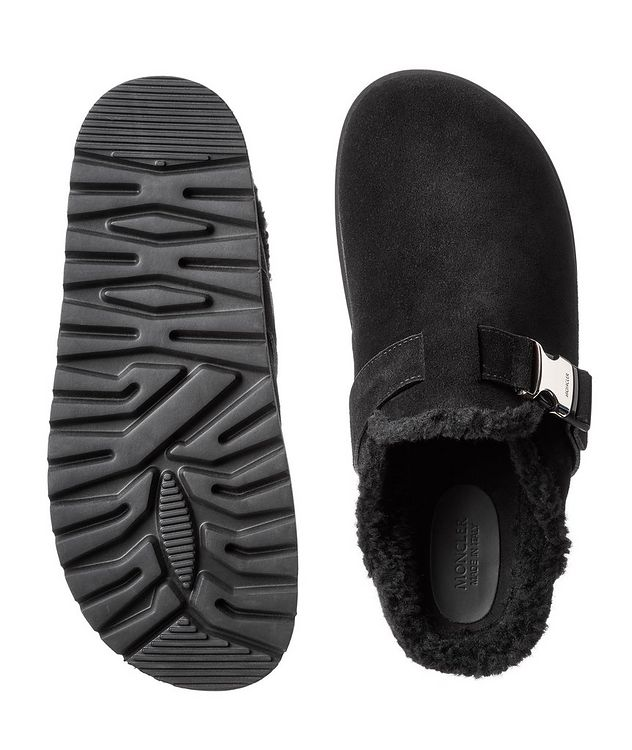 Mon Mule Suede Slip-Ons picture 3
