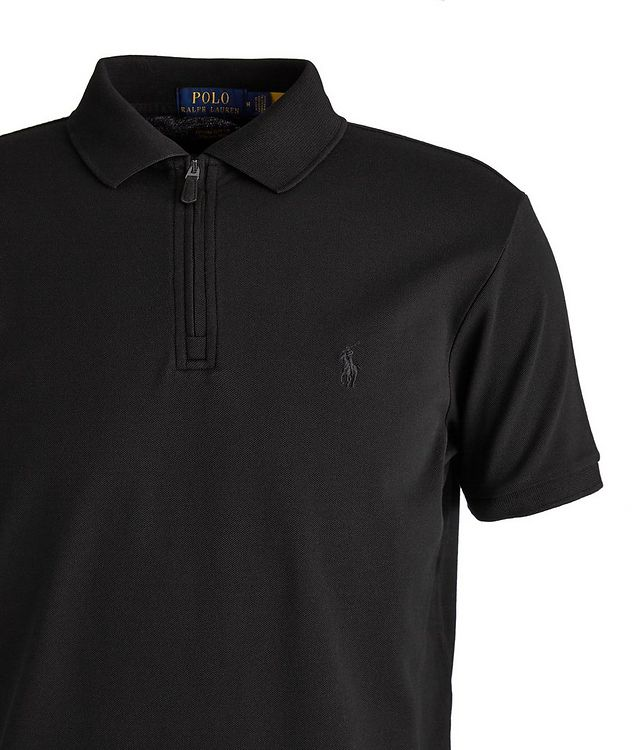 Slim Fit Stretch Mesh Polo picture 2